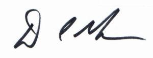 Signature D Muns 2016